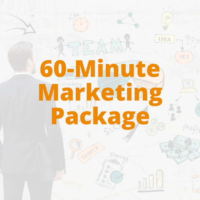 60-minute Marketing Package