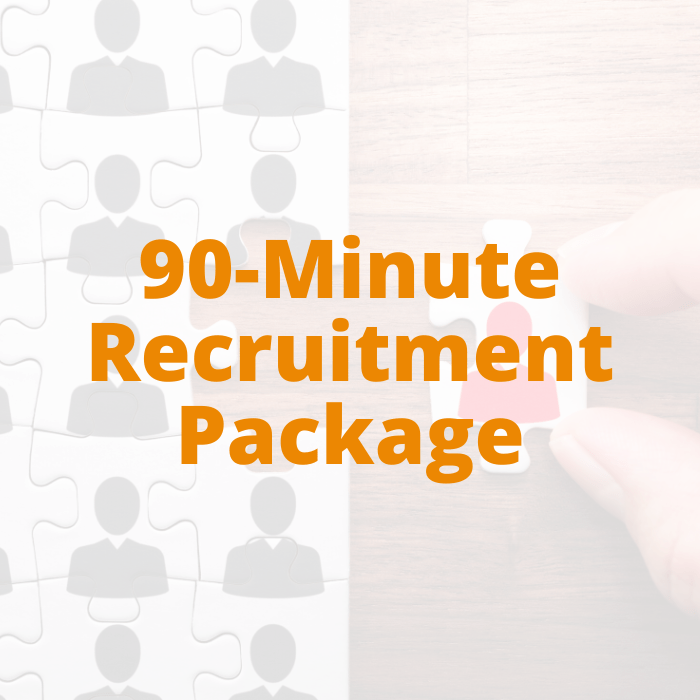 90-minute Recruitment Package